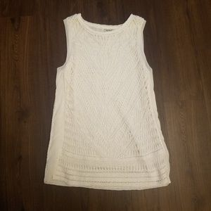 Lucky Brand Crochet Mini Dress